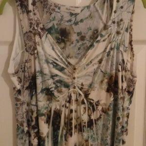 Style & Co. Sleeveless Summer Blouse